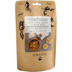 Forestia Outdoor Meal Meat 350g Chicken Madras with Long Grain and Wild Rice